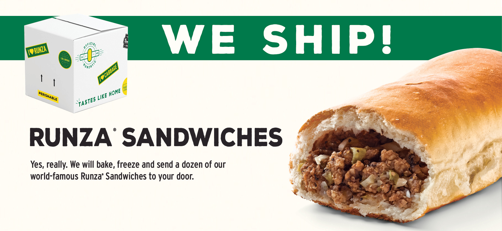 Shipping Sandwiches